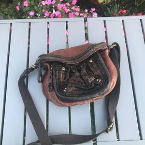 The Sak leather crossbody purse